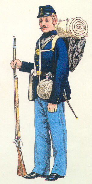 Civil War Infantryman