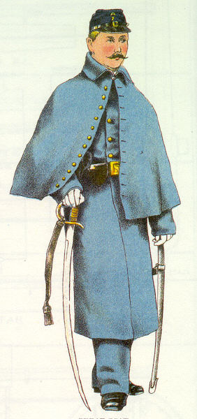 Mounted Men's Overcoat