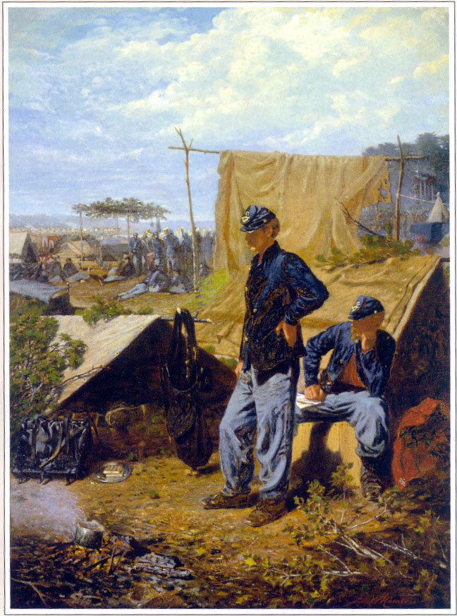 Winslow Homer Most Famous Paintings War Camp