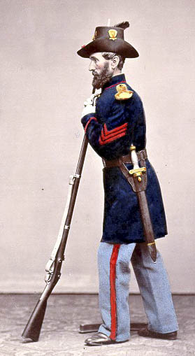 Sergeant with Foot Artillery Sword